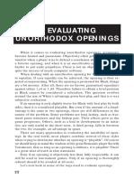 3. Evaluating Unorthodox Chess Openings