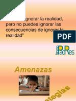 Presentacion Sobre Amenazas a La Educación Democrática - Alexis Ramírez,