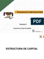 Semana 3 Estructura de Capital