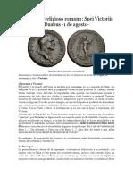 Calendario Religioso Romano VI