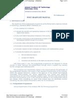 pg manual