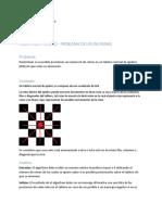 Pseudocodigo para algoritmo de ajedrez