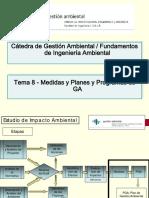 Tema 8 - Medidas Planes y Programas