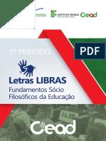 F-161-Fundamentos Sócio Filosóficos Da Educação.parte 1