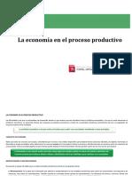 La Economía en El Proceso Productivo.