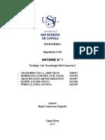 tecnología del concreto-informe 1-USIL