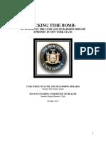 Senate Report Task Force on Lyme Tick-Borne Diseases