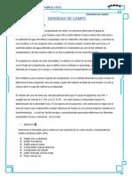 Informe Densidad de Campo laboratorio