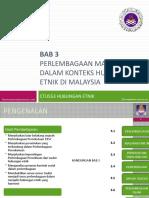 Hubungan Etnik - Perlembagaan Malaysia & Hubungan Etnik