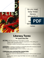 literary terms for lord of the flies