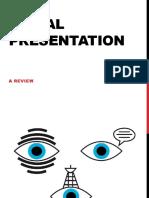 visual presentation a review