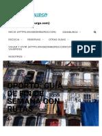 Guía de Oporto