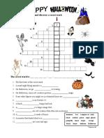 33106 Halloween Crossword