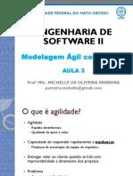 Eng Software II - Aula 3 - SCRUM