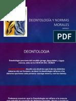 Deontología y Normas Morales