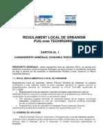 Regulament General de Urbanism