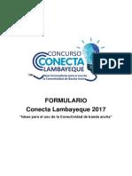 Concurso Conecta 2017