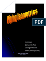 How to Draw Piping Isometrics