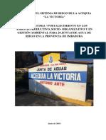 Informe Catastro La Victoria 12 de Junio