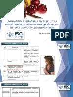 Haccp - Bpm - Legislacion Peruana