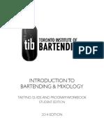 Bartending Manual