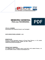 Memoriu General PUG Techirghiol Final