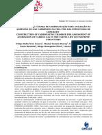 Artigo Unijuí Camara de Carbonatação