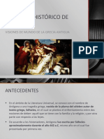 Contexto Histórico e Interno de Antígona