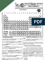 Química - Pré-Vestibular Impacto - Tabela Periódica - Características Gerais I