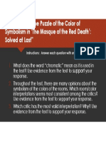 excerpt of the puzzle of the color symbolism tdqs