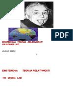Jelovac Seadin - Eisteinova Teorija 100 Godina Lazi