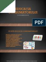 Educația Consumatorului