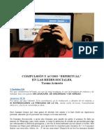 """Compulsión y Acoso """"Espiritual"""" en Las Redes Sociales, Txema Armesto"""