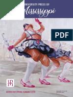 University Press of Mississippi Spring-Summer 2018 Catalog of Books