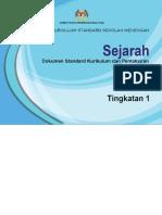 04 DSKP KSSM Tingkatan 1 Sejarah