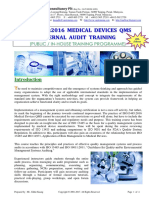 47.ISO13485 2016 MedicalDevices IA Training