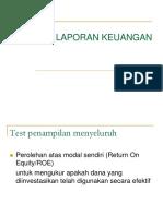 12. Analisis Laporan Keuangan