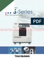 Takisawa Japan TPS Series Machine Catalogue - February 2016