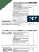 Programa General de Auditoria Financiera