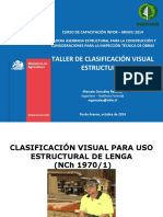 Clasificacion Visual Para Uso Estructural Nch 1970