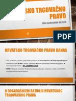 4. Hrvatsko trgovačko pravo + Razgraničenje trgovačkog i gospodarskog prava