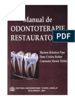 Dr. Constantin VÂRLAN - Manual de Odontoterapie Restauratoare