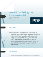 Benefits of Being an Instrumentalist