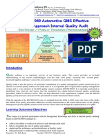 42.ISOTS16949 Automotive QMS Effective Process Aproach IQA Rev2