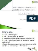 Aula Metrologia Mecanica Aprendiz