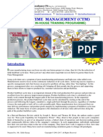 34.Cycle Time Management CTM
