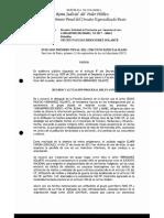 Auto inhibitorio de septiembre de 2016 de Jesús Santrich sobre preclusión de amnistía de iure