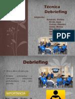 Técnica del debriefing
