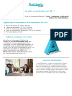 Logros Banco Solidario - Tercer Trimestre 2017