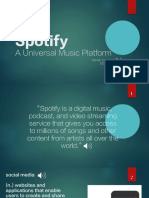spotify presentation  2